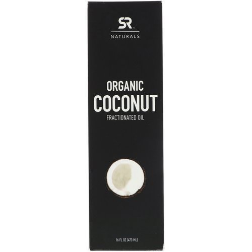 Sports Research, Organic Coconut Fractionated Oil, 16 fl oz (473 ml) فوائد