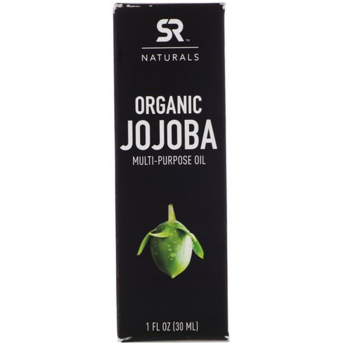 Sports Research, Organic Jojoba Multi-Purpose Oil, 1 fl oz (30 ml) فوائد