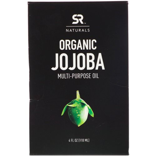 Sports Research, Organic Jojoba Multi-Purpose Oil, 4 fl oz (118 ml) فوائد