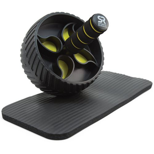 Sports Research, Performance Ab Wheel + Knee Pad Included فوائد