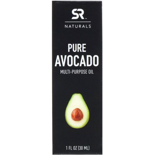 Sports Research, Pure Avocado Multi-Purpose Oil, 1 fl oz (30 ml) فوائد