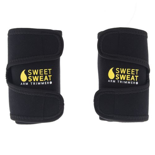 Sports Research, Sweet Sweat Arm Trimmers, Unisex-Regular, Yellow, 1 Pair فوائد