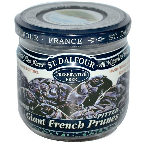 St. Dalfour, Giant French Prunes, Pitted, 7 oz (200 g) فوائد