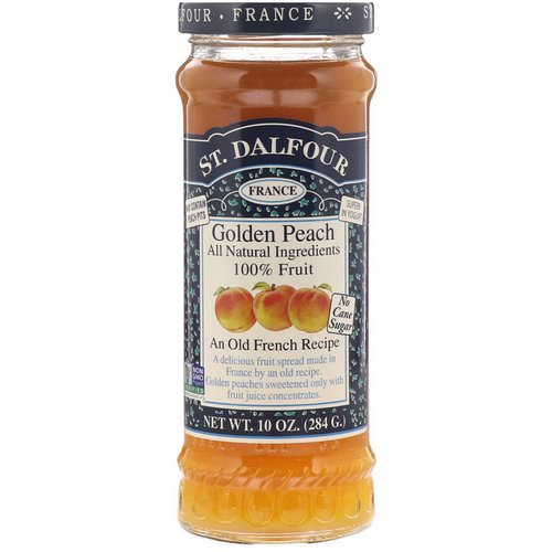 St. Dalfour, Golden Peach, Deluxe Golden Peach Spread, 10 oz (284 g) فوائد