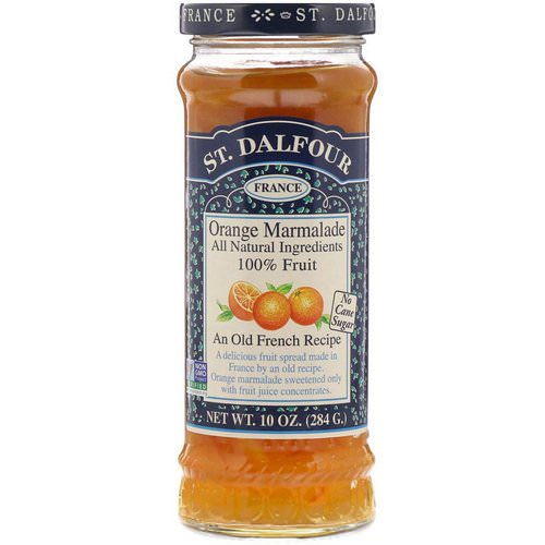 St. Dalfour, Orange Marmalade, Deluxe Orange Marmalade Spread, 10 oz (284 g) فوائد