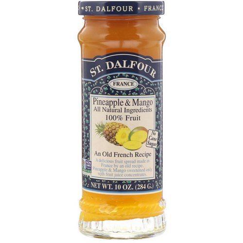St. Dalfour, Pineapple & Mango, Fruit Spread, 10 oz (284 g) فوائد
