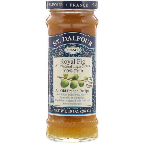 St. Dalfour, Royal Fig, Fruit Spread, 10 oz (284 g) فوائد