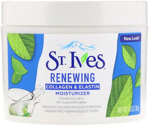 St. Ives, Renewing Collagen & Elastin Moisturizer, 10 oz (283 g) فوائد