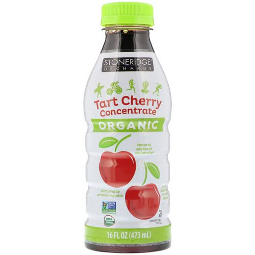 Stoneridge Orchards, Organic, Tart Cherry Concentrate, 16 fl oz (473 ml) فوائد