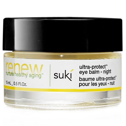 Suki, Renew, Ultra-Protect Eye Balm - Night, 0.5 fl oz (15 ml) فوائد