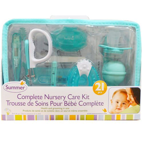 Summer Infant, Complete Nursery Care Kit, 21 Pieces فوائد
