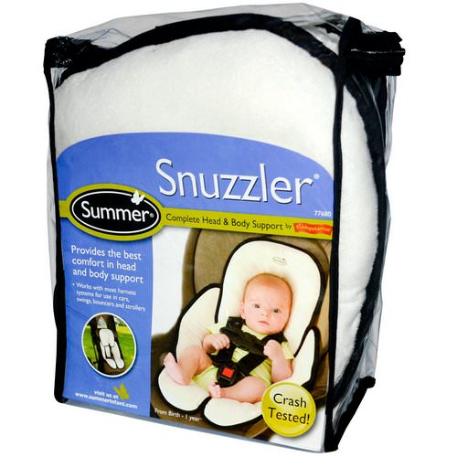 Summer Infant, Snuzzler, Complete Head & Body Support from Birth - 1 Year فوائد
