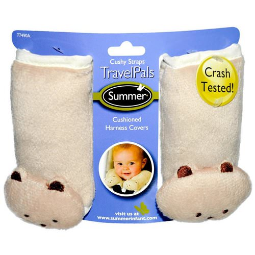 Summer Infant, Travel Pals, Cushy Straps, 2 Harness Covers فوائد