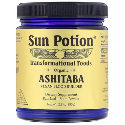 Sun Potion, Organic Ashitaba Powder, 2.8 oz (80 g) فوائد