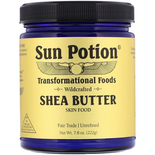 Sun Potion, Shea Butter, Wildcrafted, 7.8 oz (222 g) فوائد