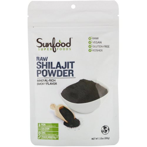 Sunfood, RAW Shilajit Powder, 3.5 oz (100 g) فوائد