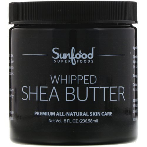 Sunfood, Shea Butter, 8 fl oz. (236.58 ml) فوائد