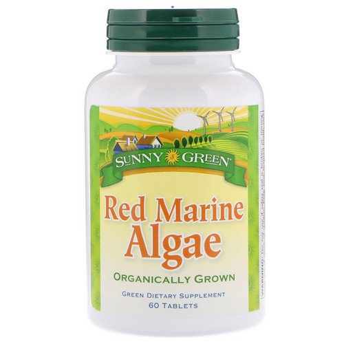 Sunny Green, Red Marine Algae, 60 Tablets فوائد