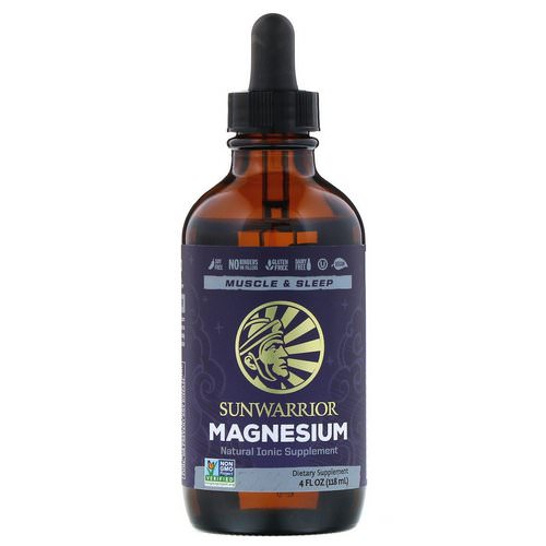 Sunwarrior, Magnesium, 4 fl oz (118 ml) فوائد