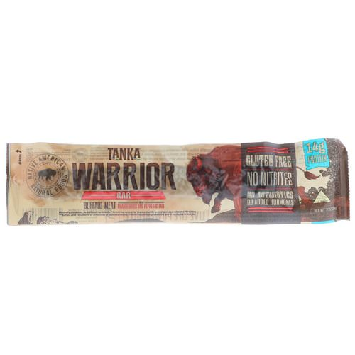 Tanka, Warrior Bar, Buffalo Meat with Cranberries and Pepper Blend, 2 oz (56 g) فوائد