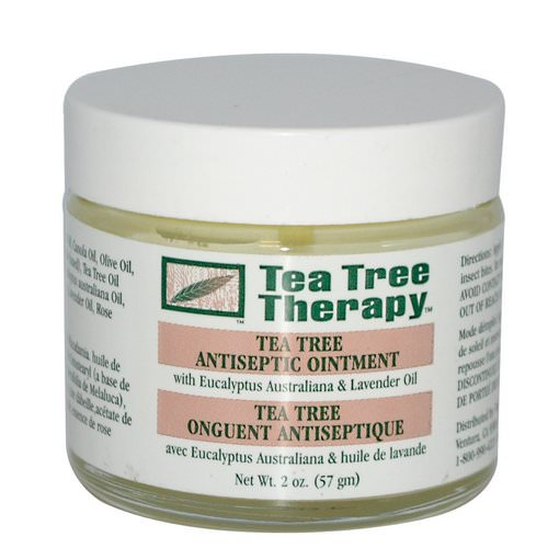 Tea Tree Therapy, Tea Tree Antiseptic Ointment, 2 oz (57 g) فوائد
