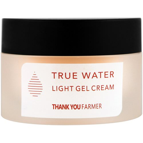 Thank You Farmer, True Water, Light Gel Cream, All Skin Types, 1.75 fl oz (50 ml) فوائد