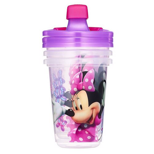 The First Years, Disney Minnie Mouse, Sippy Cups, 9+ Months, 3 Pack - 10 oz (296 ml) فوائد