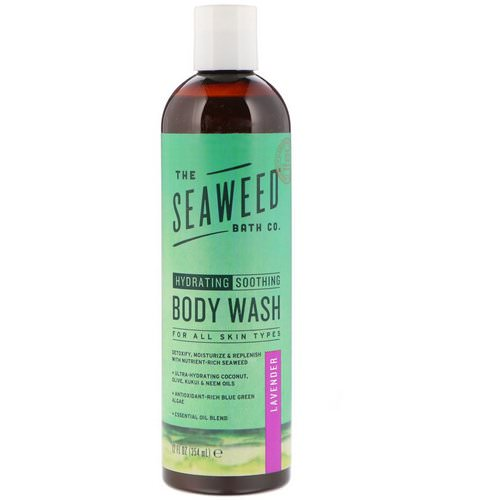 The Seaweed Bath Co, Hydrating Soothing Body Wash, Lavender, 12 fl oz (354 ml) فوائد