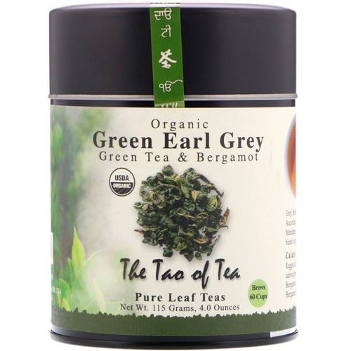 The Tao of Tea, Organic Green Tea & Bergamot, Green Earl Grey, 4.0 oz (115 g) فوائد