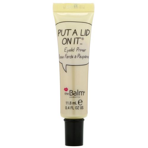 theBalm Cosmetics, Put A Lid On It, Eyelid Primer, 0.4 fl oz (11.8 ml) فوائد