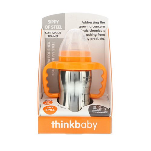 Think, Thinkbaby, Sippy of Steel, Stage C, 9 oz (260 ml) فوائد