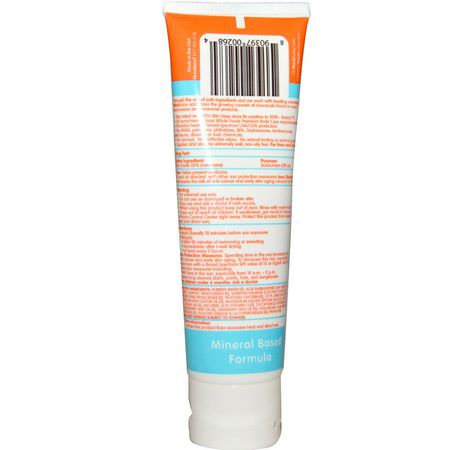 Think, Thinkbaby, Sunscreen SPF 50+, 3 fl oz (89 ml):,اقٍ من الشمس للجسم