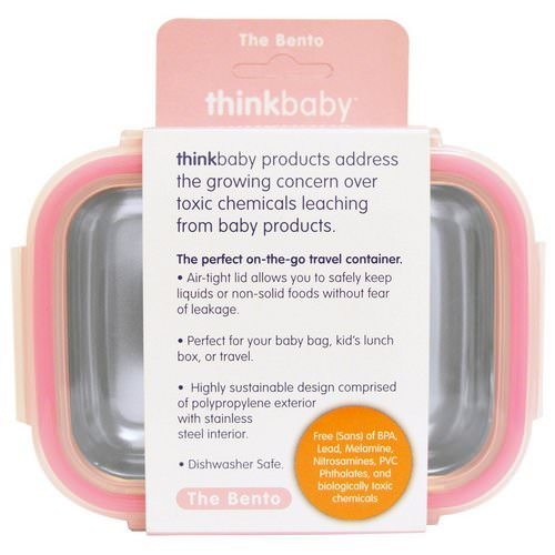 Think, Thinkbaby, The Bento Box, Pink, 9 oz (250 ml) فوائد