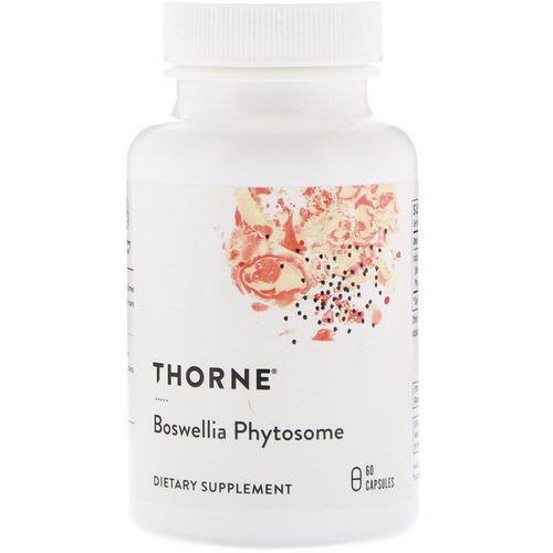Thorne Research, Boswellia Phytosome, 60 Capsules فوائد