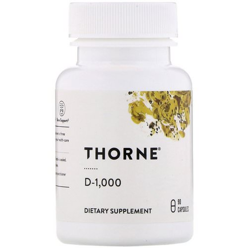 Thorne Research, D-1000, 90 Capsules فوائد