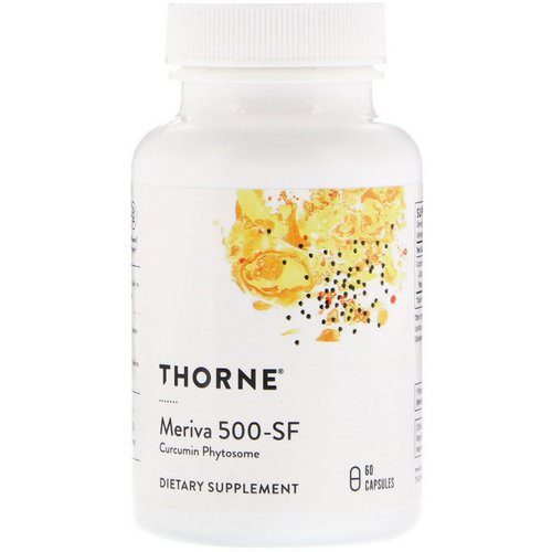 Thorne Research, Meriva 500-SF, 60 Capsules فوائد