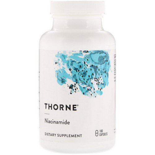 Thorne Research, Niacinamide, 180 Capsules فوائد