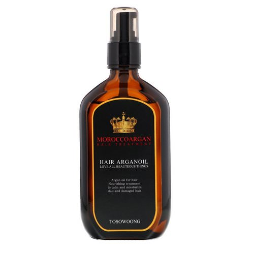 Tosowoong, Morocco Argan Hair Oil Treatment, 100 ml فوائد