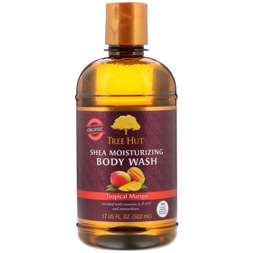Tree Hut, Shea Moisturizing Body Wash, Tropical Mango, 17 fl oz (502 g) فوائد