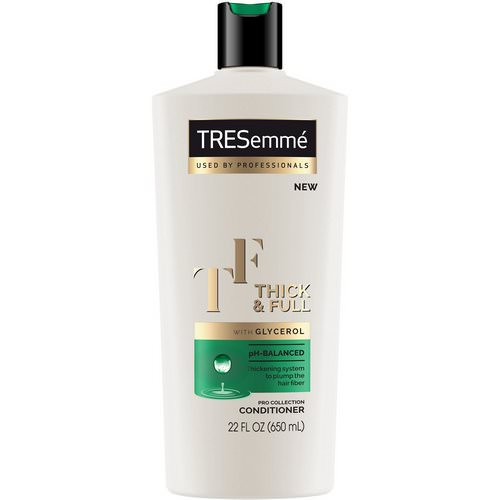 Tresemme, Thick & Full Conditioner, 22 fl oz (650 ml) فوائد