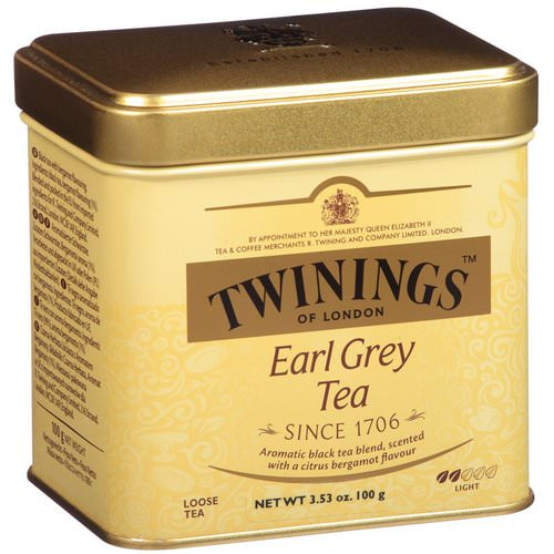 Twinings, Earl Grey Loose Tea, 3.53 oz (100 g) فوائد