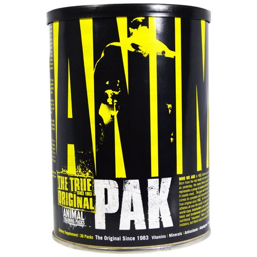 Universal Nutrition, The True Original, Animal Pak, Animal Training Packs, 30 Packs فوائد