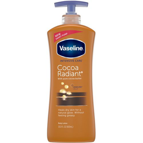 Vaseline, Intensive Care, Cocoa Radiant Body Lotion, 20.3 fl oz (600 ml) فوائد
