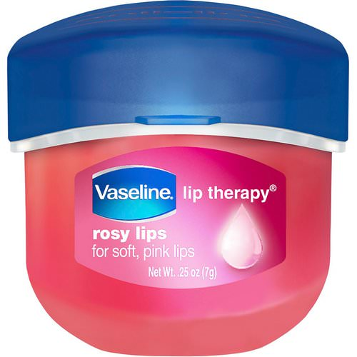 Vaseline, Lip Therapy, Rosy Lip Balm, 0.25 oz (7 g) فوائد