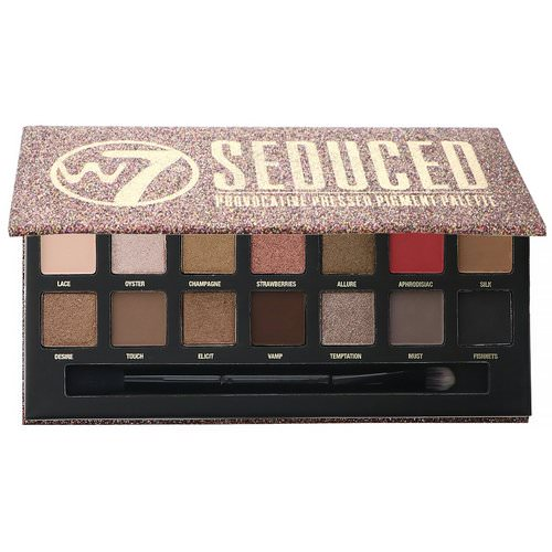 W7, Seduced, Provocative Pressed Pigment Palette, 0.39 oz (11.2 g) فوائد