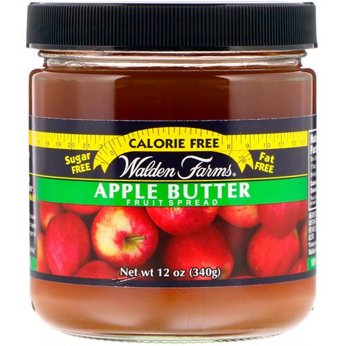 Walden Farms, Apple Butter, Fruit Spread, 12 oz (340 g) فوائد