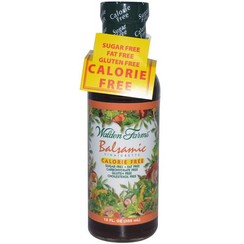Walden Farms, Balsamic Vinaigrette, 12 fl oz (355 ml) فوائد