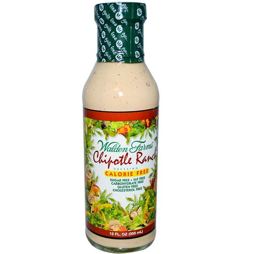 Walden Farms, Chipotle Ranch Dressing, 12 fl oz (355 ml) فوائد