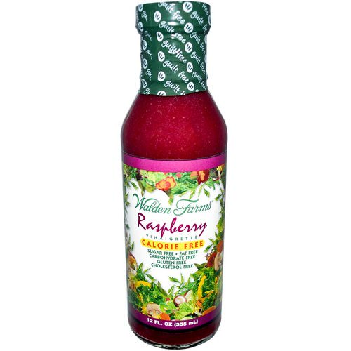 Walden Farms, Raspberry Vinaigrette, 12 fl oz (355 ml) فوائد