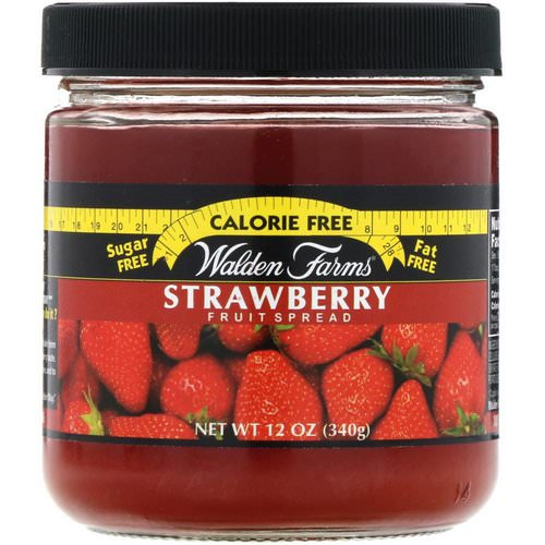 Walden Farms, Strawberry Fruit Spread, 12 oz (340 g) فوائد